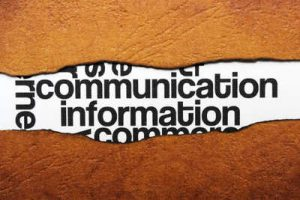 Do you do as much communication as you should?
